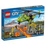 Lego City – Volcán: Helicóptero De Suministros – 60123