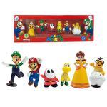 Pack 6 Figuras Super Mario