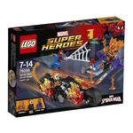 Lego Súper Héroes – Spider-man: Alianza Con El Motorista Fantasma – 76058