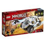 Lego Ninjago – Tumbler Ninja De Titanio – 70588