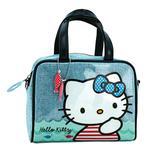 Hello Kitty Neceser Mediano Con Asas Azul