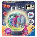 Trolls – Lámpara 3d Puzzle