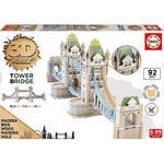 Educa Borrás – Tower Bridge – 3d Monument Puzzle