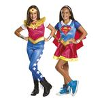 Dc Super Hero Girls – Disfraz Infantil Supergirls Y Wonder Woman 3-4 Años