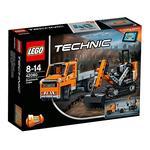 Lego Technic – Equipo De Trabajo En Carretera – 42060