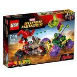 Lego Súper Héroes – Hulk Vs Hulk Rojo – 76078