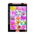 Educa Borrás – Collage De Flores – Puzzle 1500 Piezas
