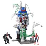 Spider-man – Playset Duelo En Web City