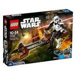 Lego Star Wars – Scout Trooper Y Speeder Bike – 75532
