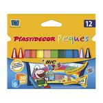 Bic – Plastidecor 12 Triangular Kids