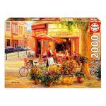 Educa Borrás – Corner Café, Haixia Liu – Puzzle 2000 Piezas