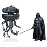 Star Wars – Probe Droid Y Darth Vader – Vehículo Clase A 9 Cm
