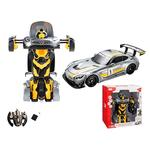 Coche Mercedes Amg Gt3 Transformable Radio Control