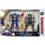 Transformers – Optimus Prime Y Cybertron Figuras Deluxe-1