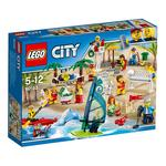 Lego City – Pack De Mini Figuras Diversión En La Playa – 60153