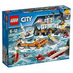 Lego City – Guardacostas Cuartel General – 60167