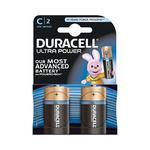 - Pack 2 Pilhas C Ultra Power Duracell