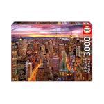 Educa Borrás – Vistas De Manhattan – Puzzle 3000 Piezas