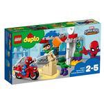 Lego Duplo – Las Aventuras De Spider-man Y Hulk – 10876