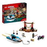 Lego Junior – Persecución En La Lancha Ninja De Zane – 10755-3