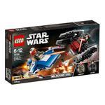 Lego Star Wars – Microfighters Ala-a Vs Silenciador Tie – 75196