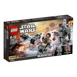 Lego Star Wars – Microfighters Speeder Esquiador Vs Caminante De La Primera Orden – 75195