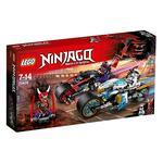 Lego Ninjago – Carrera Callejera Del Jaguar-serpiente – 70639