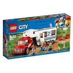 Lego City – Camioneta Y Caravana – 60182