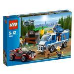 Lego City Furgoneta De Perros Policias