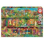 - El Jardín Secreto- Puzzle 1500 Piezas Educa Borras