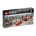 Lego Speed Champions – Taller Definitivo De Ferrari – 75889
