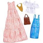 Barbie – Vestido Vaquero Y Vestido Rosa – Pack 2 Modas