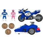 Fisher Price – Imaginext Power Rangers – Ranger Azul Y Triceratops De Batalla-1