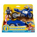 Fisher Price – Imaginext Power Rangers – Ranger Azul Y Triceratops De Batalla-3