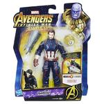 Los Vengadores – Capitán América – Figura Deluxe 15 Cm Con Gema