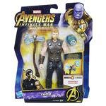 Los Vengadores – Thor – Figura Deluxe 15 Cm Con Gema