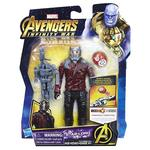 Los Vengadores – Star Lord – Figura Deluxe 15 Cm Con Gema