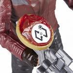 Los Vengadores – Star Lord – Figura Deluxe 15 Cm Con Gema-2