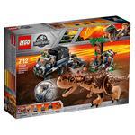 Lego Jurassic World – Huida Del Carnotaurus En La Girosfera – 75929