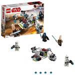 Lego Star Wars – Pack De Combate Jedi Y Soldados Clon – 75206-9