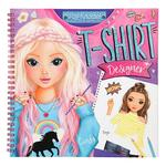 Top Model – T-shirt Designer Cuaderno Para Colorear