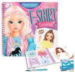 Top Model – T-shirt Designer Cuaderno Para Colorear-2