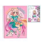 Top Model – Libro De Colorear Mangamodel-2