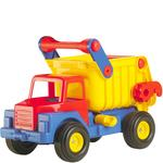 Quality Toys Camion Volquete Truck Nº1 Neumaticos De Goma Wader