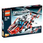 Lego Helicóptero De Rescate
