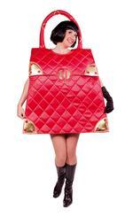 Disfraz Adulto Mujer Bolso Rojo