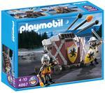 Playmobil Ballesta Triple Con Caballeros Del León