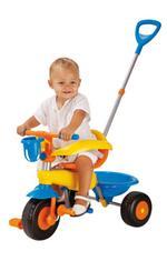 Triciclo Amarillo/azul/naranja