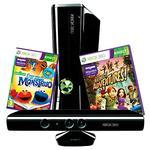 Pack Xbox 360 Kinect 4gb + Juego Barrio Sésamo + Juego Adventures
