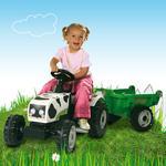 Tractor Vaca Con Remolque Smoby
